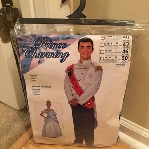 Men's Prince Charming Costume Size S